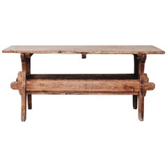 18th Century Swedish Trestle Table