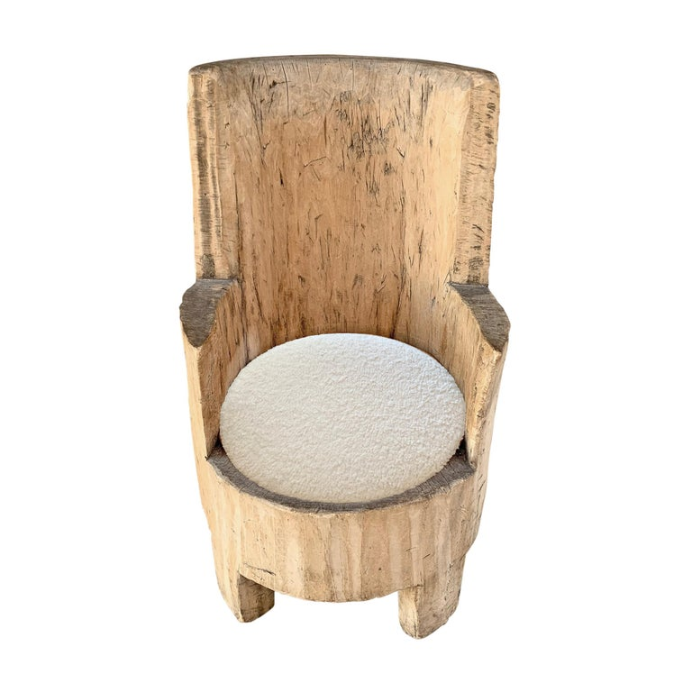 Rustic 18th Century Swedish Tub Chair For Sale