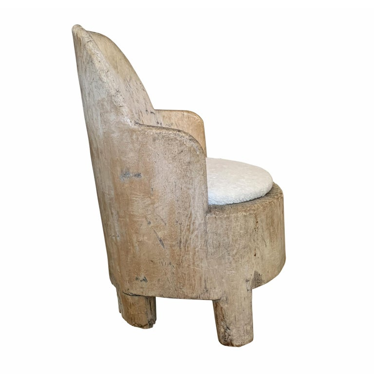18th Century Swedish Tub Chair In Good Condition For Sale In Chicago, IL