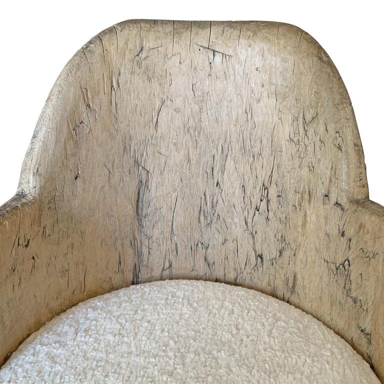 18th Century Swedish Tub Chair For Sale 3