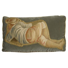 18th Century Tapestry Lumbar Pillow