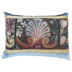 Maison Maison 18th Century Tapestry Silk Velvet Pillow
