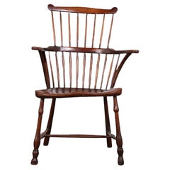 18th Century Thames Valley Comb Back Windsor Armchair