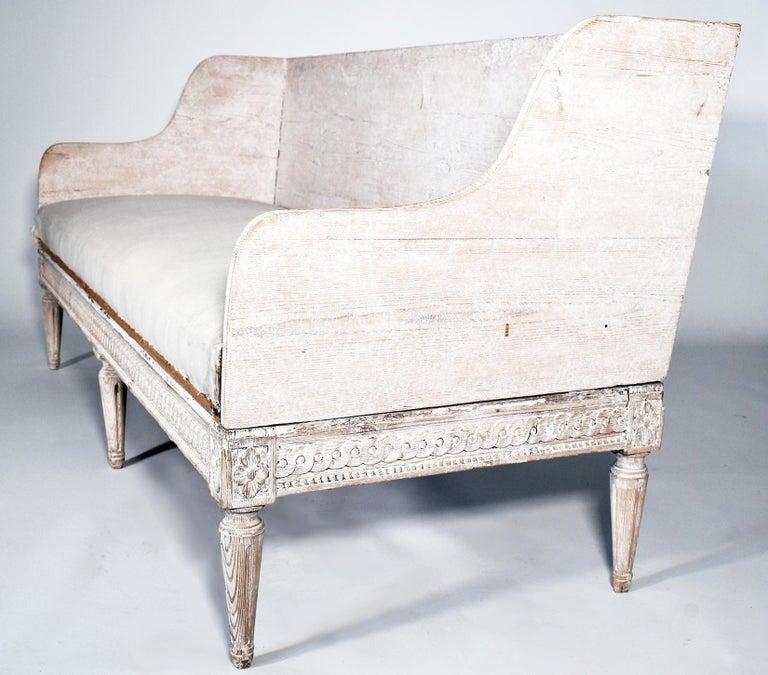 Swedish 18th Century Trag Sofa For Sale