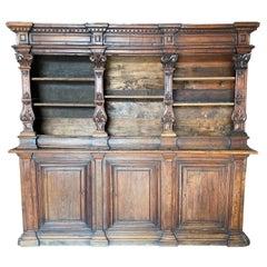18th Century Tuscan Walnut Bookcase