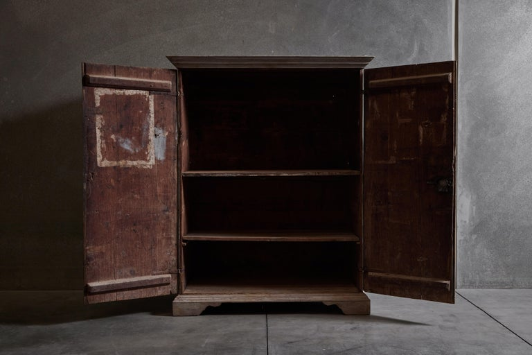 18th Century and Earlier 18th Century Tuscan Wardrobe For Sale
