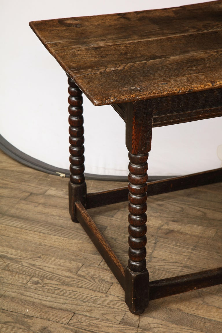 18th Century Twisted Leg Table For Sale 6