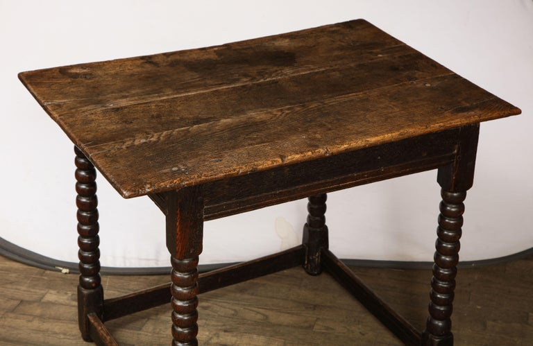 18th Century Twisted Leg Table For Sale 7