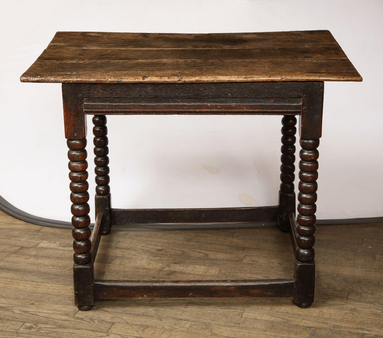 British 18th Century Twisted Leg Table For Sale