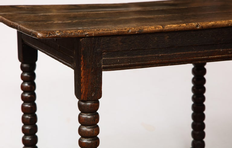 18th Century Twisted Leg Table For Sale 2