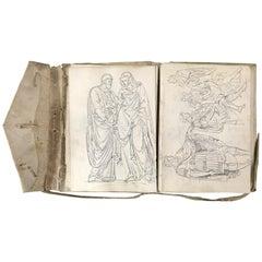 18th Century Vellum Drawing Book