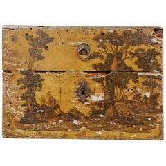 18th Century Venetian Arte Povera Jewelry Box