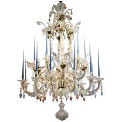 18th Century Venetian Chandelier of Impressive Proportions