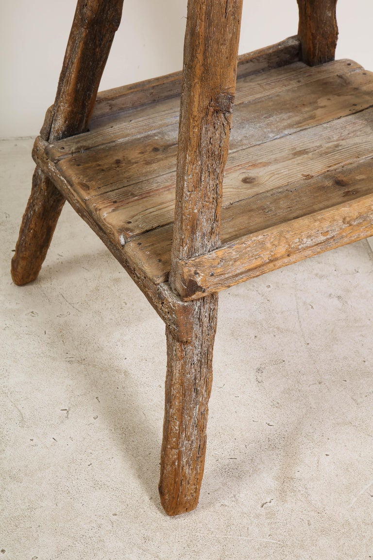 18th Century Venetian Wood Sculpture Stand For Sale 9