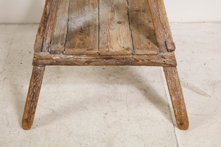 18th Century Venetian Wood Sculpture Stand For Sale 14