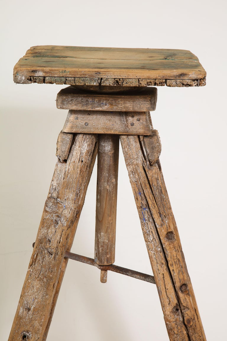 18th Century Venetian Wood Sculpture Stand For Sale 5