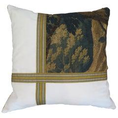 Maison Maison 18th Century Verdure Tapestry Pillow