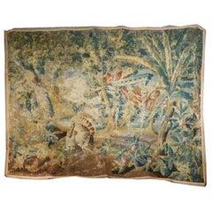 18th Century Verdure Tapestry, Aubusson, France