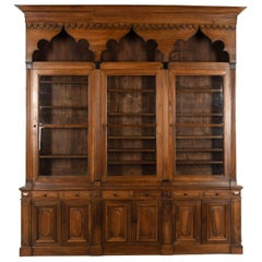 18th Century Walnut Bookcase