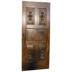 18th Century Walnut Door