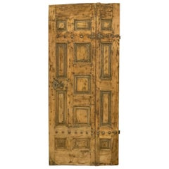 18th Century Walnut Door from France