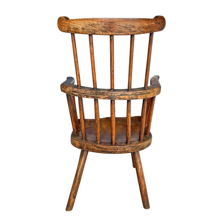 18th Century Welsh Stick Chair For Sale 7
