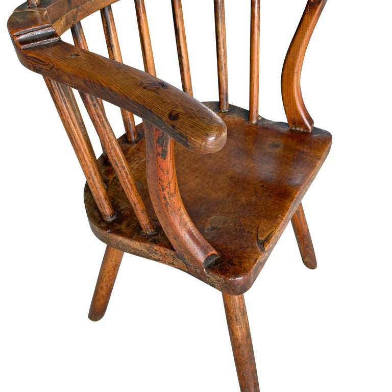18th Century Welsh Stick Chair For Sale 1