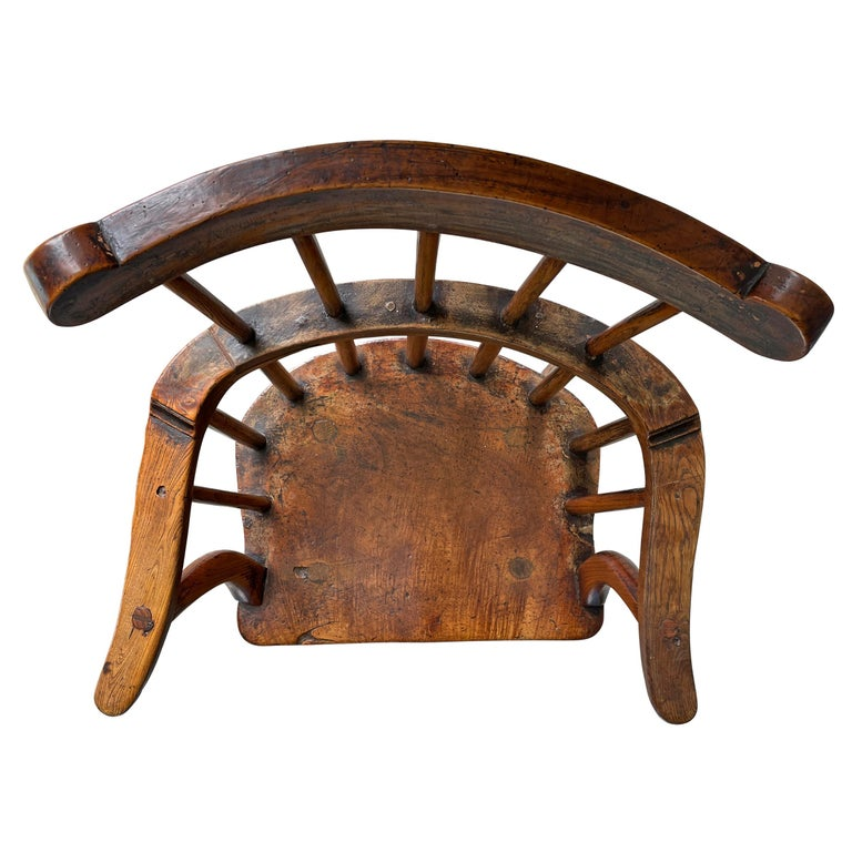18th Century Welsh Stick Chair For Sale 3