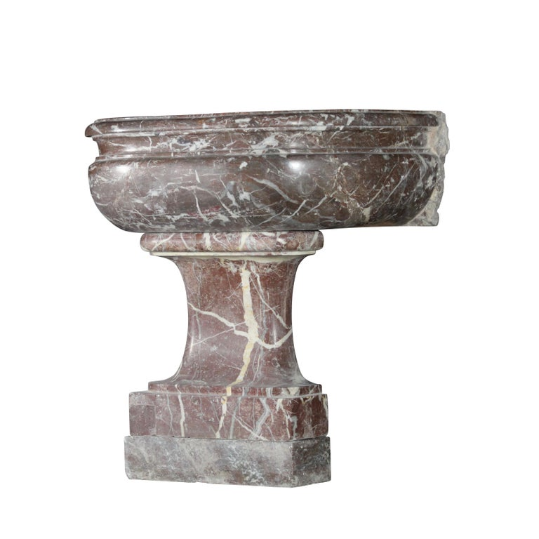18th Century Wine And Champagne Cooler In Marble For Sale At 1stdibs