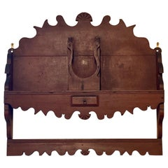 18th or Early 19th Century Pine Kitchen Shelf