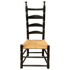 18th-19th Century American Ladder Back Chair