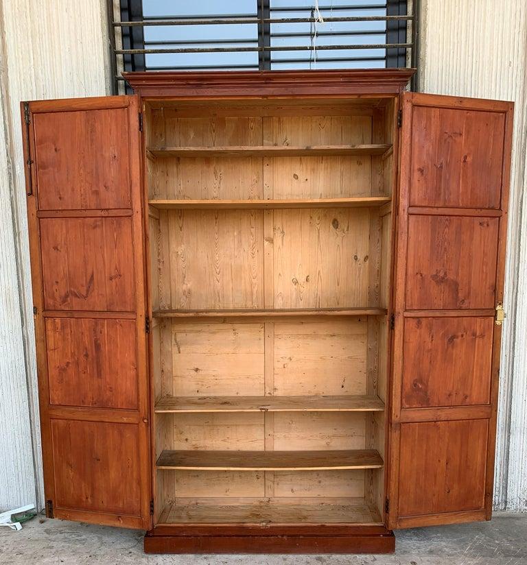 Spanish Wardrobe, Cupboard or Cabinet, Walnut, Castilian Influence, Spain Restored For Sale