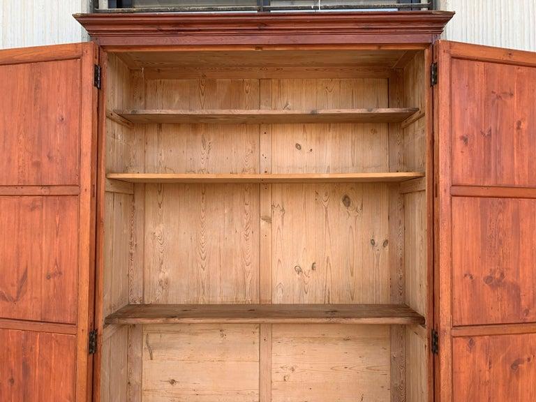 18th Century Wardrobe, Cupboard or Cabinet, Walnut, Castilian Influence, Spain Restored For Sale