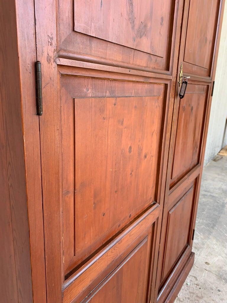 Wardrobe, Cupboard or Cabinet, Walnut, Castilian Influence, Spain Restored For Sale 1