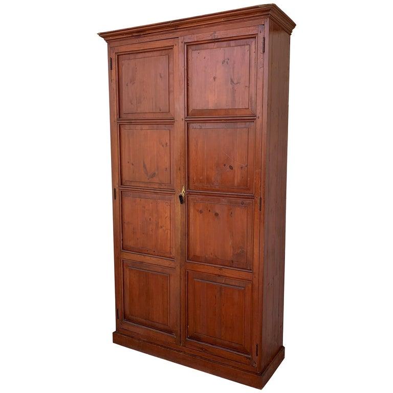 Wardrobe, Cupboard or Cabinet, Walnut, Castilian Influence, Spain Restored For Sale