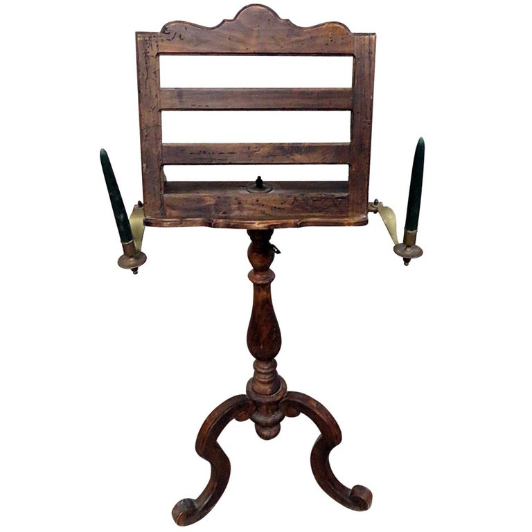 18th century antique music stand for sale at 1stdibs. Black Bedroom Furniture Sets. Home Design Ideas