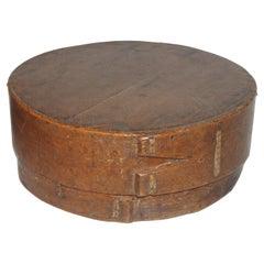 18thc Hand Made New England Pantry Box