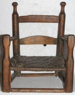 18thc Original Surface Children's Chair