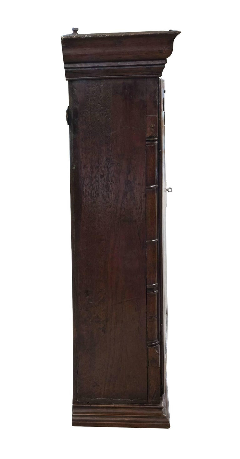 18th Century Welsh Oak Hanging Cupboard 2