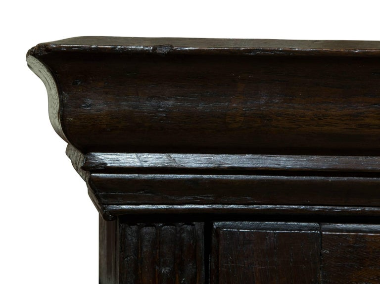 18th Century Welsh Oak Hanging Cupboard 7