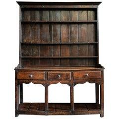 18th Century Welsh Pot Board Dresser