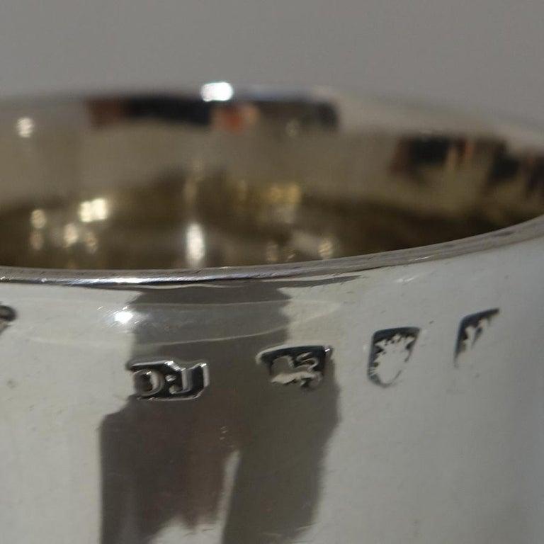 18thCentury Antique George III Sterling Silver Pint Mug Lon 1772 Orlando Jackson For Sale 2