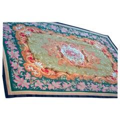 19th Century French Napoleon III Aubusson Carpet