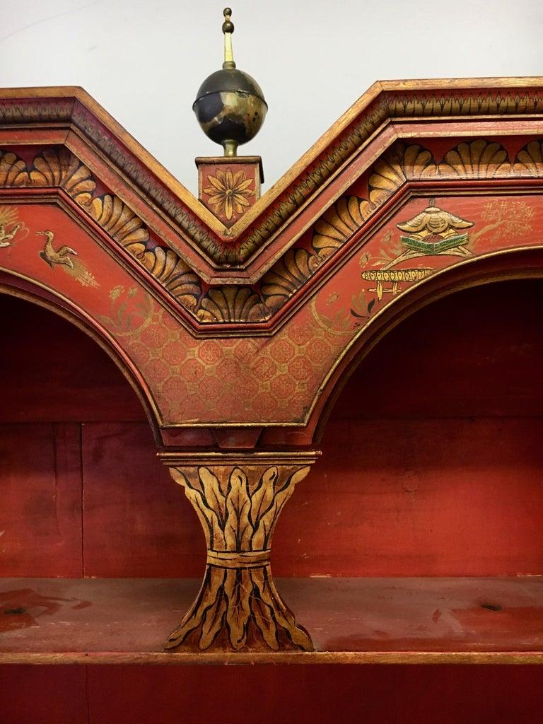 19 Century Italian Secretary Cabinet Desk For Sale 5