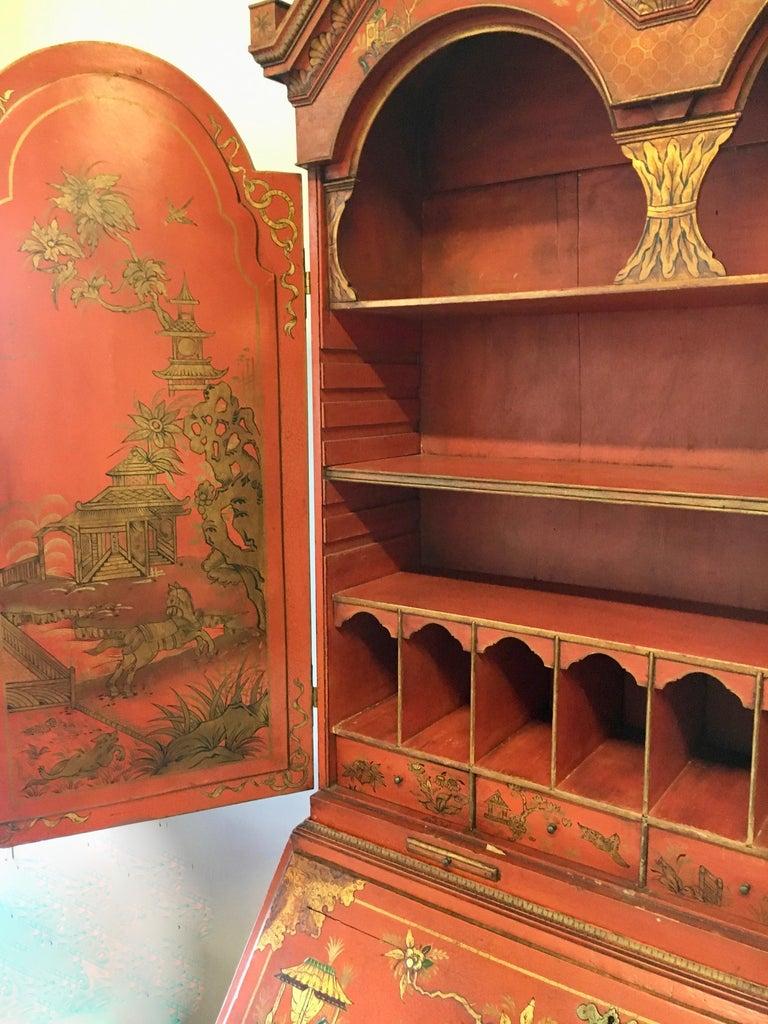 19 Century Italian Secretary Cabinet Desk For Sale 2