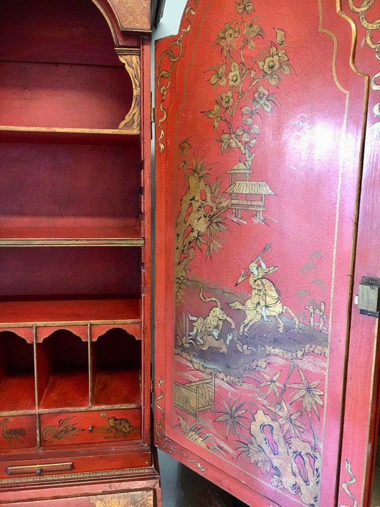 19 Century Italian Secretary Cabinet Desk For Sale 3