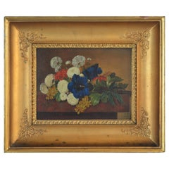 19th Century Danish Golden Age Flower Painting