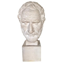 "19th Century Plaster Bust of ""Brutus the Older"""