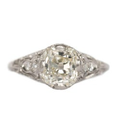 1.90 Carat Platinum Engagement Ring