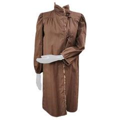 190 Fendi coat with lynx bob cat fur linning size 10